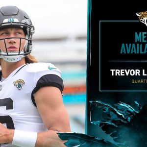 QB Trevor Lawrence and S Rayshawn Jenkins meet with the media  | Jaguars Media Availability