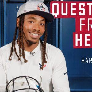 Vernon Hargreaves III on the Best Fits in the Locker Room ? | Questions From a Helmet
