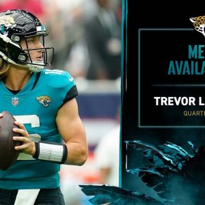 QB Trevor Lawrence and CB Shaquill Griffin meet with the media  | Jaguars Media Availability