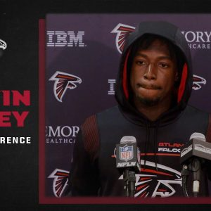 Calvin Ridley on yesterday's win over the Giants