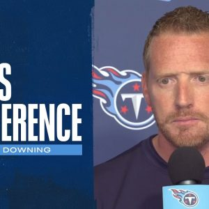 We Believe in the Power of Effort and Finish | Todd Downing Press Conference
