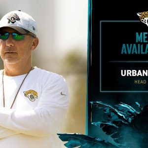 HC Urban Meyer meets with the media on Friday of Week 1 | Jaguars Media Availability