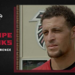 Feleipe Franks on his role with the offense | Atlanta Falcons