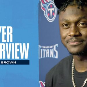 Get the Bad Taste Out of Our Mouth Today | A.J. Brown Player Interview