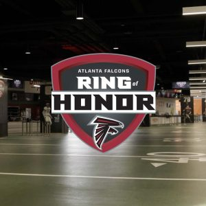 Introducing the new Falcons Ring of Honor | Mercedes-Benz Stadium