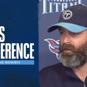It's Going to Take Everybody, Every Snap | Shane Bowen Press Conference