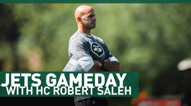Jets Gameday With Robert Saleh | The New York Jets | NFL