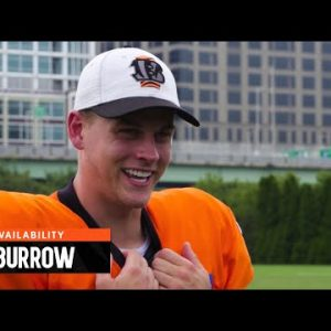 """Joe Burrow: """"I'm Excited to Get Out There"""" 