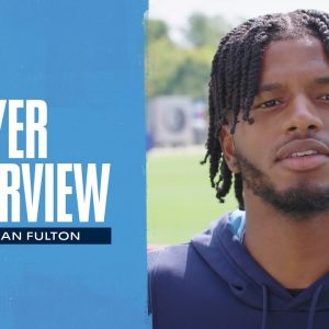 Keep the Receivers Guessing | Kristian Fulton Player Interview