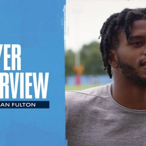 Main Thing is Staying Healthy | Kristian Fulton Player Interview