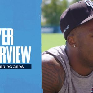 Make Plays When the Ball Comes my Way | Chester Rogers Player Interview