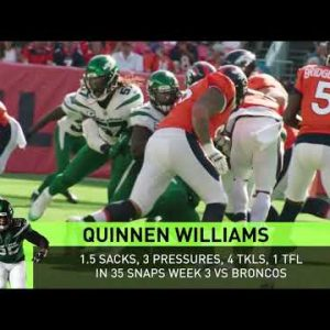 Inside the Numbers of the Defensive Line's Production | Next Gen Stats | The New York Jets | NFL