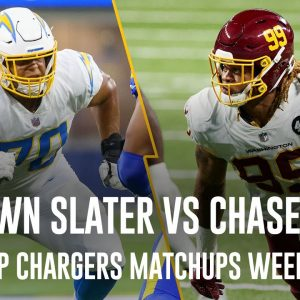 RASHAWN SLATER VS CHASE YOUNG!! Top Chargers Matchups to Watch vs. WFT | NFL Week 1