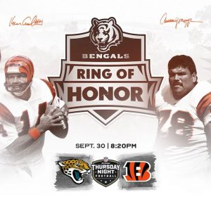 Best in Class: The Inaugural Class of the Bengals Ring of Honor | Cincinnati Bengals