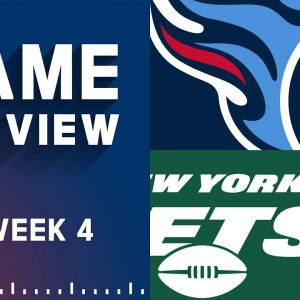 Tennessee Titans vs. New York Jets   Week 4 NFL Game Preview