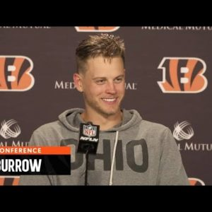 """Joe Burrow: """"When The Game Is On The Line I Want The Ball In My Hands"""" 