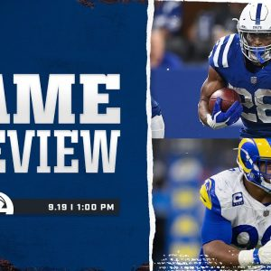 Week 2 Preview | Colts vs. Rams