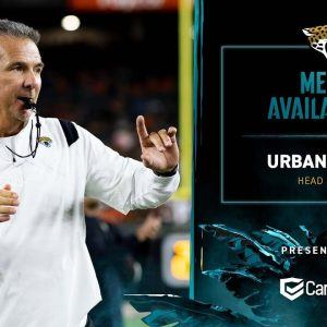 HC Urban Meyer meet with the media on Wednesday of Week 5 | Jaguars Media Availability