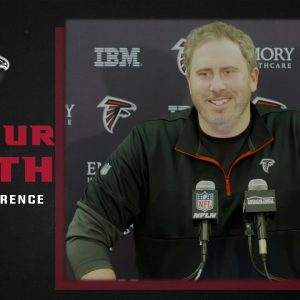Arthur Smith on Calvin Ridley being back and ready to go this week   Atlanta Falcons