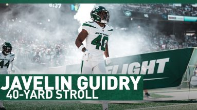 40 On The 40  | 40-Yard Stroll With Javelin Guidry | The New York Jets