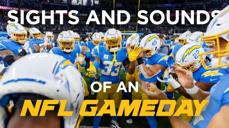 """NFL SIDELINE MIC'D UP: Best Sound from Game Day at SoFi Stadium, """"Today is ordained!"""" 