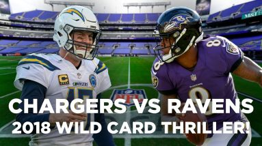 Philip Rivers & Chargers TAKE DOWN Lamar Jackson & Ravens in 2018 Playoffs | NFL Highlights