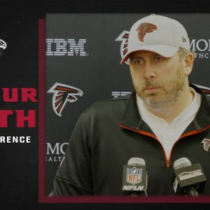 Arthur Smith on the team having 'a lot of confidence in Younghoe Koo' | Atlanta Falcons | NFL