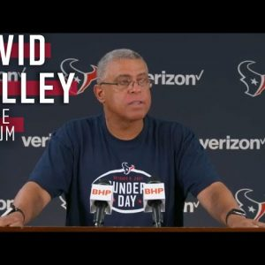 Head Coach David Culley Meets with the Media