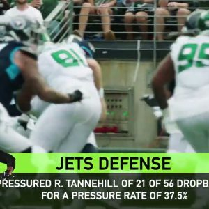 Next Gen Stats | Inside the Numbers of the Jets' Productive Pass Rush | The New York Jets | NFL