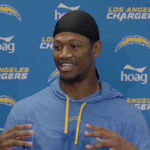 """Donald Parham on Chemistry with Justin Herbert, """"It's insane to see what he can do"""" 