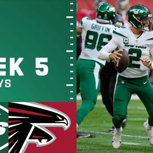Jets' Top Plays from Week 5 vs. Falcons | The New York Jets | NFL