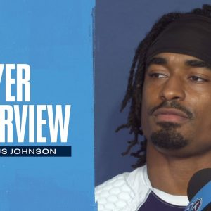 Keep Making Contested Catches | Marcus Johnson Player Interview