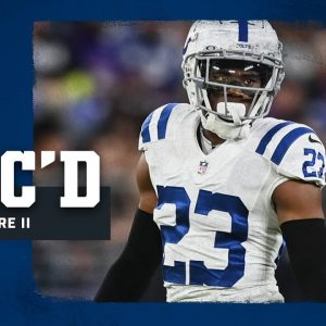 Kenny Moore II Mic'd Up on Monday Night Football | Week 5 at Ravens