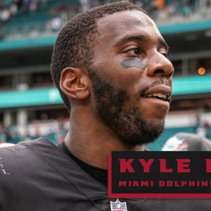 Kyle Pitts career day against the Miami Dolphins   Atlanta Falcons   NFL
