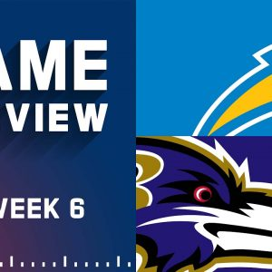 Los Angeles Chargers vs. Baltimore Ravens   Week 6 NFL Game Preview