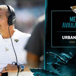 HC Urban Meyer meets with media after a Week 5 loss against Tennessee | Jaguars Media Availability
