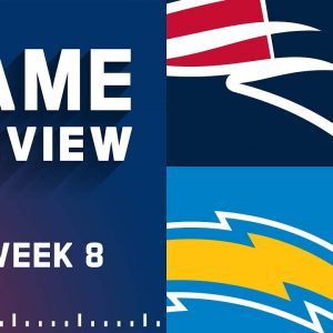 New England Patriots vs. Los Angeles Chargers | Week 8 NFL Game Preview