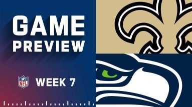 New Orleans Saints vs. Seattle Seahawks | Week 7 NFL Game Preview