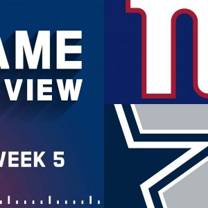New York Giants vs. Dallas Cowboys | Week 5 NFL Game Preview