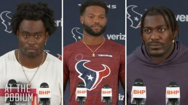Texans Met with the Media   Texans At the Podium