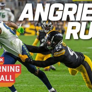 The ANGRIEST Runs of Week 6 | Good Morning Football