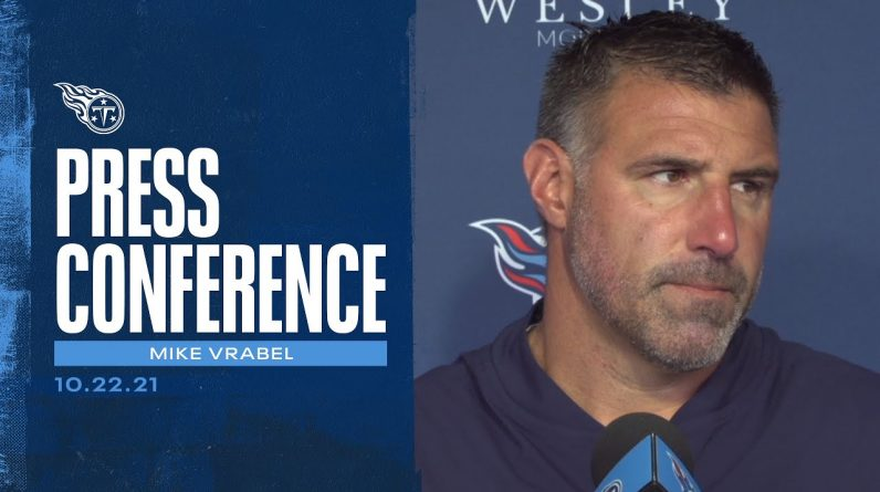 The Confidence is High | Mike Vrabel Press Conference