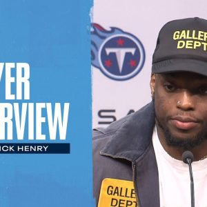 The Credit Goes to the Guys Up Front | Derrick Henry Player Interview