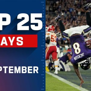 Top 25 Plays of September | NFL 2021 Highlights