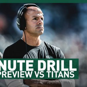 Who's An X Factor Sunday? | 2-Minute Drill: Game Preview Vs Titans | The New York Jets | NFL
