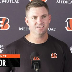 Zac Taylor News Conference | October 20, 2021