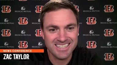 Zac Taylor News Conference | October 25, 2021